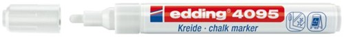 KRIJTSTIFT EDDING 4095/1 ROND 2-3MM WIT 1 STUK