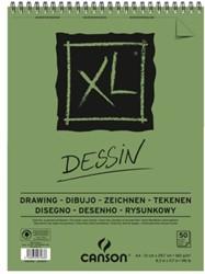 TEKENBLOK CANSON XL DESSIN A4 160GR 50V SPIRAAL 50 VEL