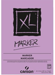TEKENBLOK CANSON XL MARKER A4 70GR 100V 100 VEL