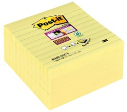 MEMOBLOK 3M POST-IT Z-NOTE S440 SUPER STICKY GEEL 1 STUK
