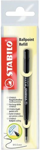 BALPENVULLING STABILO STANDAARD 0.5MM ZWART 1 Stuk