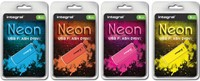 USB-STICK INTEGRAL FD 32GB NEON GEEL 1 STUK-2
