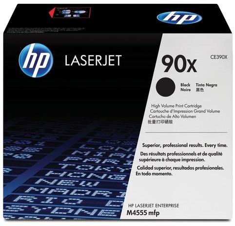 TONERCARTRIDGE HP 90X CE390X 24K ZWART 1 STUK