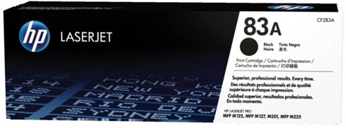 TONERCARTRIDGE HP 83A CF283A 1.5K ZWART 1 STUK