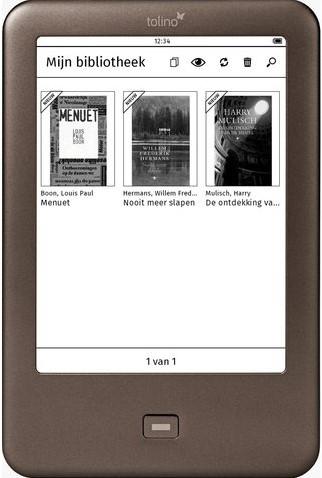 E-READER TOLINO SHINE 1 STUK