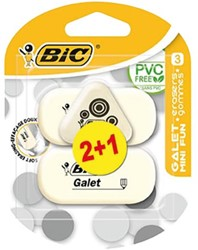 GUM BIC GALET MINI FUN 2+1 GRATIS STUK