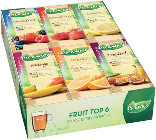 THEE PICKWICK PROFESSIONAL FRUIT TOP6 6X25X2GR 6X25 STUK-1