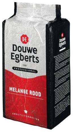 KOFFIE DOUWE EGBERTS ROODMERK SNELFILTER 1000GR 1000 GRAM