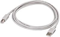 KABEL HAMA USB 2.0 A-B 1.8M GRIJS 1 STUK-2