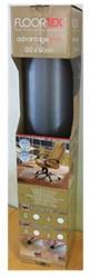 STOELMAT FLOORTEX PVC 90X120CM TAPIJTVLOER OP ROL 1 STUK