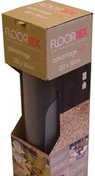 STOELMAT FLOORTEX PVC 90X120CM HARDE VLOER OP ROL 1 STUK