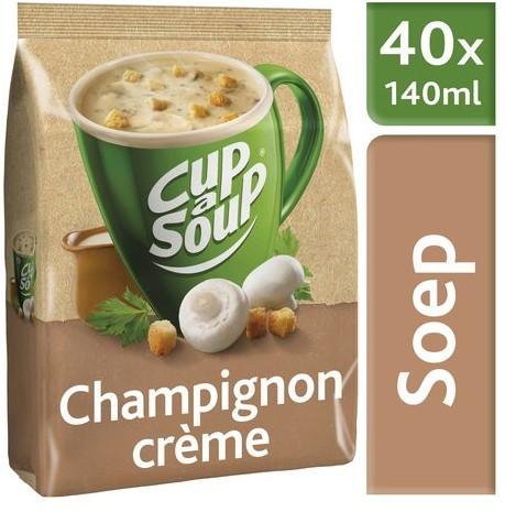 CUP A SOUP TBV DISPENSER CHAMPIGNON CREME 40 PS 40 PORTIE
