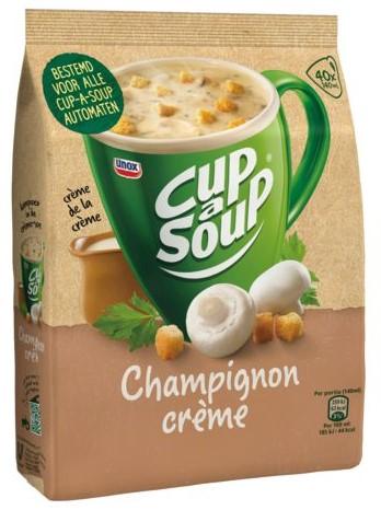 CUP A SOUP TBV DISPENSER CHAMPIGNON CREME 40 PS 40 PORTIE-2