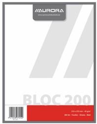 KLADBLOK 270X210MM 200V BLANCO 1 STUK