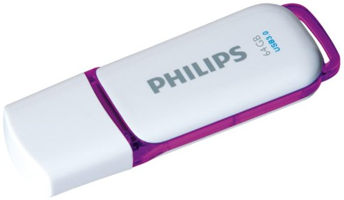 USB-STICK PHILIPS SNOW KEY TYPE 64GB 3.0 PAARS 1 STUK-2