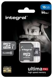GEHEUGENKAART INTEGRAL MICRO SDHC 16GB ULTIMAPRO CL10 1 STUK