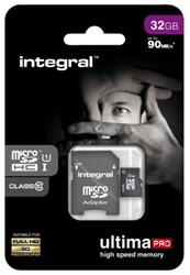 GEHEUGENKAART INTEGRAL MICRO SDHC 32GB ULTIMAPRO CL10 1 STUK