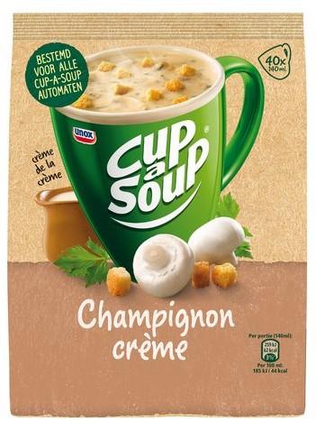 CUP A SOUP TBV DISPENSER CHAMPIGNON CREME 40 PS 40 PORTIE-1