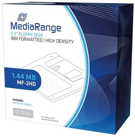 "DISKETTE MEDIARANGE 3.5"" DSHD GEFORMATTEERD 1.44MB 10 STUK-2"