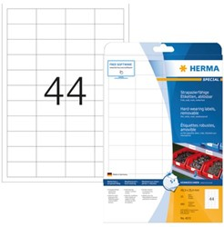 ETIKET HERMA 4572 48.3X25.4MM 880ST 20 VEL