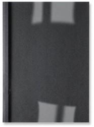 THERMISCHE OMSLAG GBC A4 1.5MM LINNEN ZWART 100 STUK