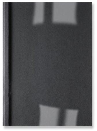 THERMISCHE OMSLAG GBC A4 3MM LINNEN ZWART 100 STUK