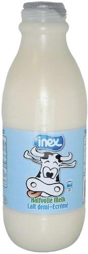 MELK INEX HALFVOL HOUDBAAR 1 LITER 1 Liter