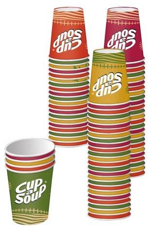 CUP A SOUP BEKER KARTON 1000 STUK