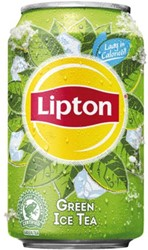FRISDRANK LIPTON ICE TEA GREEN BLIKJE 0.33L 33 CL