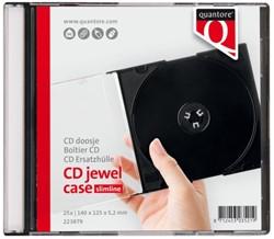 CD DOOS QUANTORE LEEG SLIMLINE 25 STUK