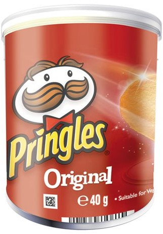 CHIPS PRINGLES ORIGINAL 40GR 1 STUK