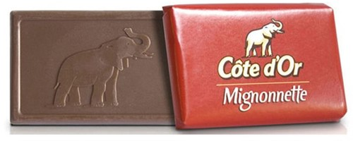 CHOCOLADE COTE D'OR 10GR MIGNONNETTE MELK MONO 120 STUK-2
