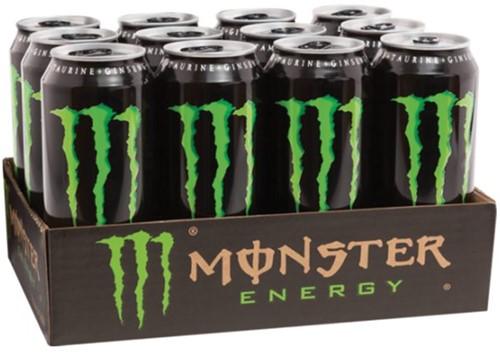 ENERGY DRANK MONSTER BLIKJE 0.50L 50 CL