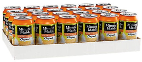FRISDRANK MINUTE MAID ORANGE BLIKJE 0.33L 33 CL-2