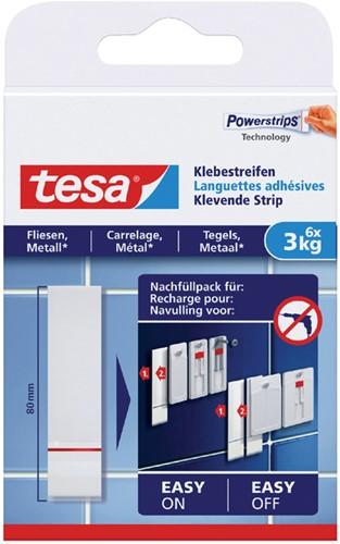 POWERSTRIP TESA VOOR TEGELS EN METAAL 3KG 6 Stuk