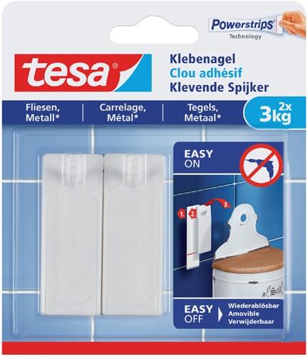KLEVENDE SPIJKER TESA VOOR TEGELS EN METAAL 3KG 2 Stuk