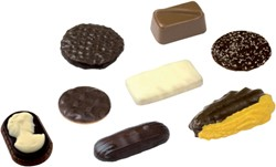 KOEKMIX ELITE CHOCOLATE SENSATION ASSORTI 120 STUK