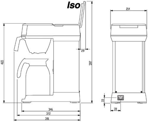 KOFFIEZETAPPARAAT BRAVILOR ISO INCL THERMOSKAN 1 STUK-2