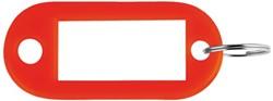 SLEUTELLABEL PAVO PLASTIC ROOD 100 STUK