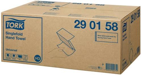 VULLING TORK H3 HANDDOEK SINGLEFOLD 1LAAGS 15X300ST 290158 15 PAK-1