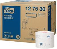 TOILETPAPIER TORK T6 MID-SIZE 2LAAGS ADVANCED 27 ROL 127530 27 ROL-1