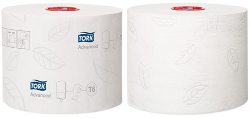 TOILETPAPIER TORK T6 ADVANCED 2L 100M 27ROL 127530 27 ROL