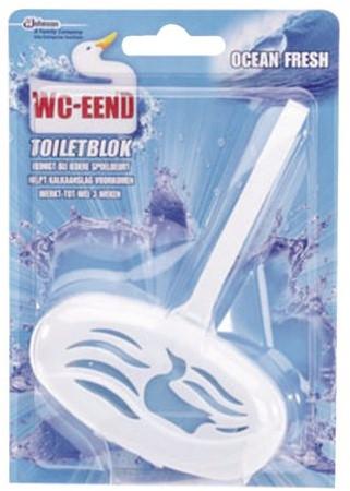 TOILETBLOK WC-EEND MET HOUDER 1 STUK