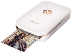 FOTO PRINTER HP SPROCKET WIT 1 STUK