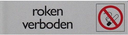 INFOBORD PICTOGRAM ROKEN VERBODEN 165X44MM 1 STUK