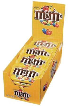 M&M'S SINGLE PINDA 45GR 24 STUK