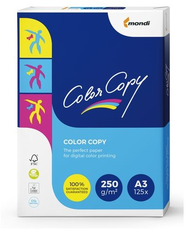 LASERPAPIER COLOR COPY A3 250GR WIT 125 VEL