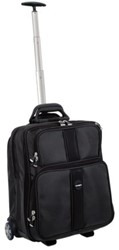 "LAPTOPTAS TROLLEY KENSINGTON OVERNIGHT 17"" ZWART 1 STUK"