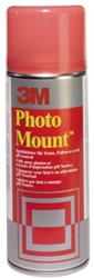FOTOLIJM 3M FOTOMOUNT SPRAY 400ML 1 STUK