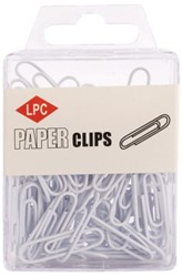 PAPERCLIP LPC 28MM WIT 100 STUK